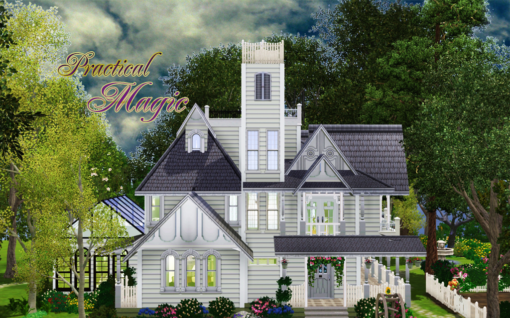 Camille practical magic house for Practical home plans